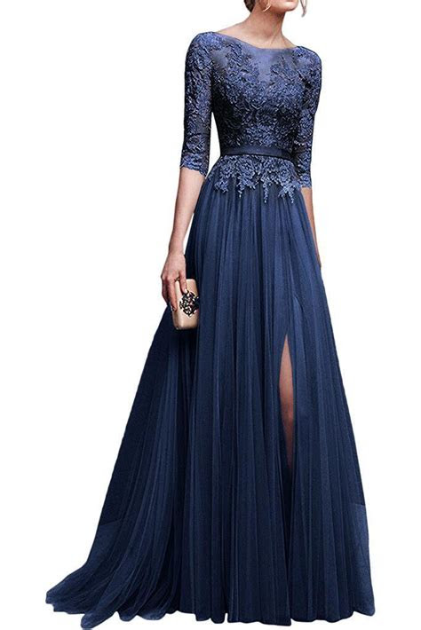 long evening formal party dress prom ball gown bridesmaid