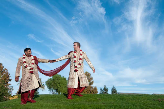One of Nation's First Traditional Indian LGBTQ Interracial Weddings - Equally Wed