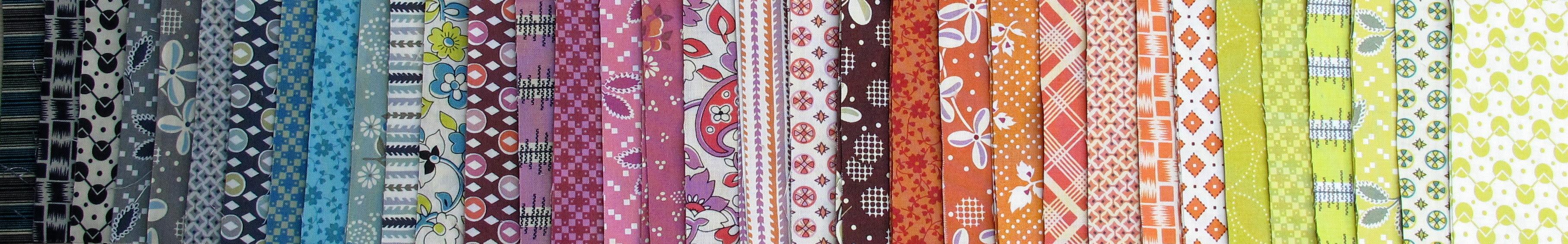 Whirly garden quilt