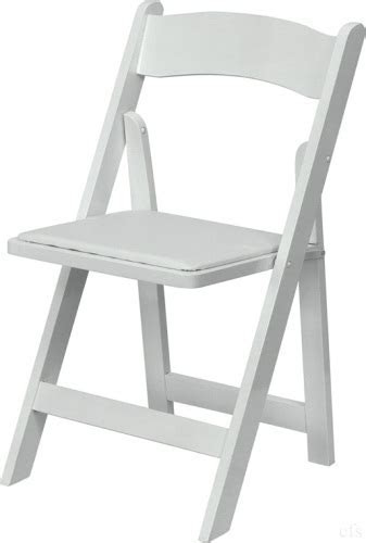 WHITE WOOD FOLDING CHAIRS: WOOD FOLDING CHAIRS, White