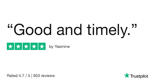 Yasmine gave Online Flower Shop 5 stars. Check out the full review...
