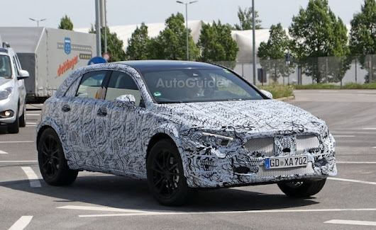 Next Mercedes GLA Spied Looking More Production Ready » AutoGuide.com News