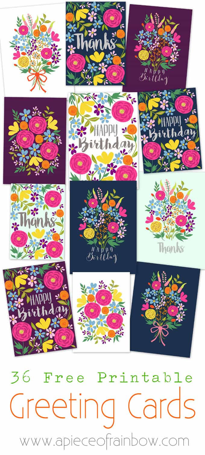 Birthday Cards Free Download Printable Card Design Template