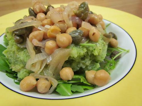 Chickpea Piccata; Broccopots