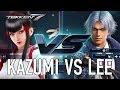 Tekken 7 nos muestra un enfrentanmiento entre Kazumi y Lee