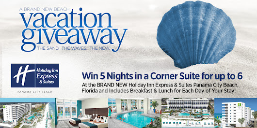 Win a Brand New Beach Vacation Getaway in Panama City Beach!