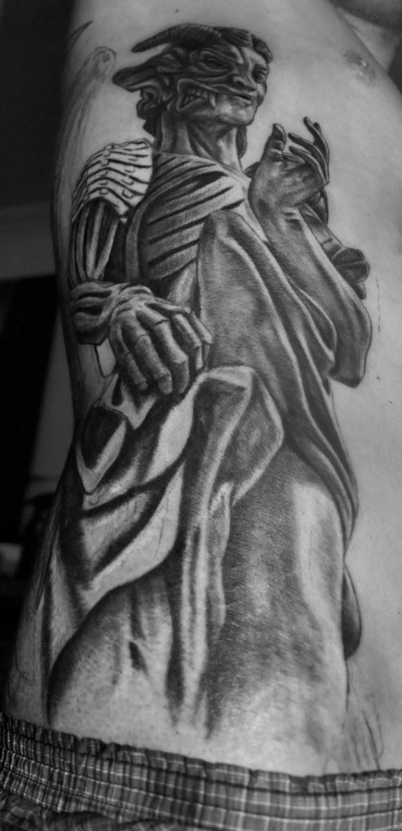 Golden West Angel And Demon Tattoo Tattoomagz