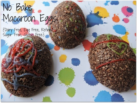 Easter Egg Macaroons {DF, GF, EF, RSF} - Keeper of the Kitchen