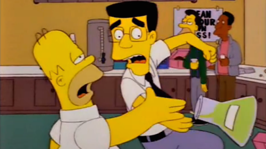 'The Simpsons' jumped the shark in one of its best episodes