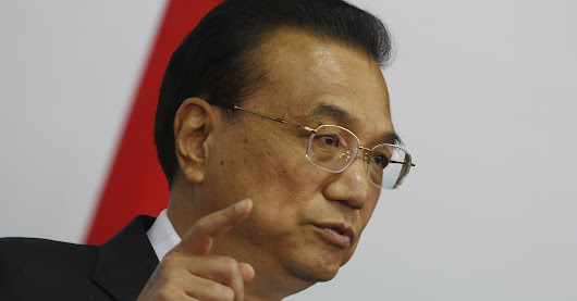 China's Li Keqiang: We're facing 'greater difficulties' in economy
