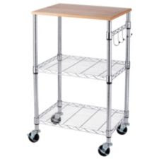 For Living Chrome Kitchen Cart | Canadian Tire