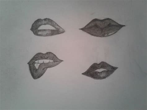 draw lips  steps  pictures wikihow