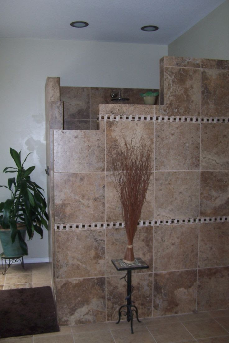 Enhancing Your Home and Lifestyle | Walk In Door Less Tiled Shower: Before & After Photos – With Design Ideas for No-door Shower