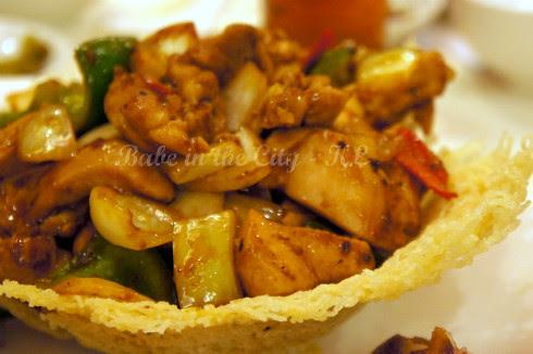 Stir-fried Cubed Chicken