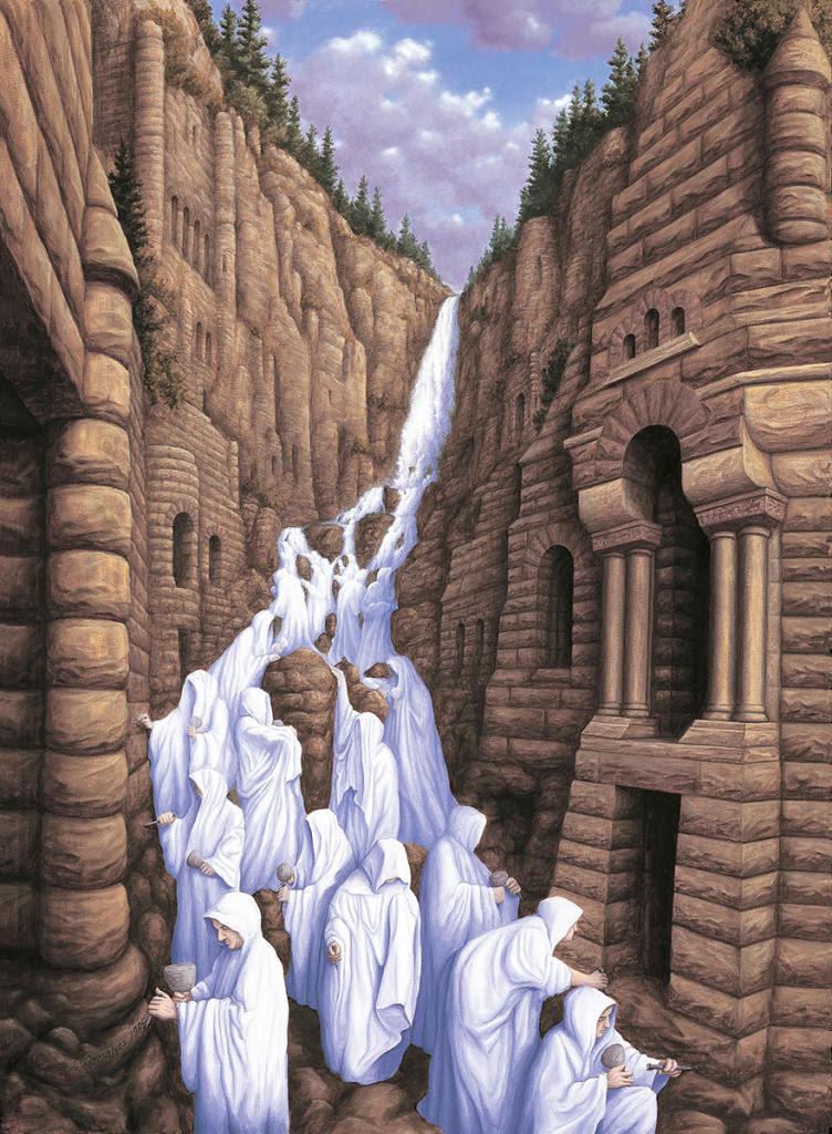diaforetiko.gr : magic realism paintings rob gonsalves 3 880 752x1024 33 Πίνακες Ζωγραφικής με οπτικές ψευδαισθήσεις που παίζουν με το μυαλό σου.