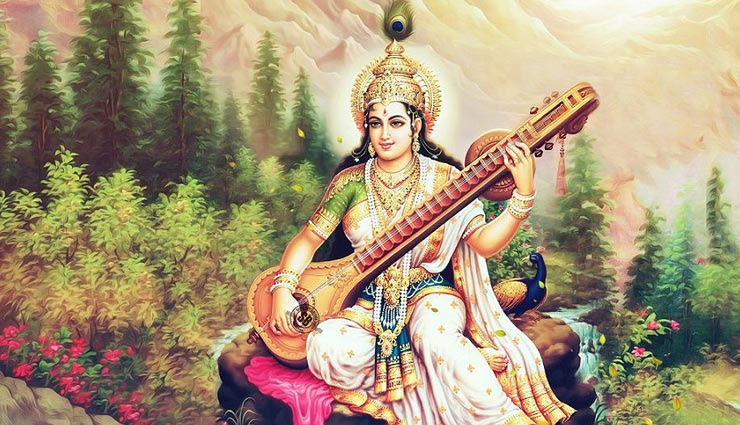 saraswati mantra,chanting of saraswati mantra,benefits of chanting of saraswati mantra,basant panchami,pooja