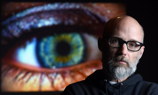 Superstar DJ-turned-author Moby says he was just as happy poor as he is rich and famous