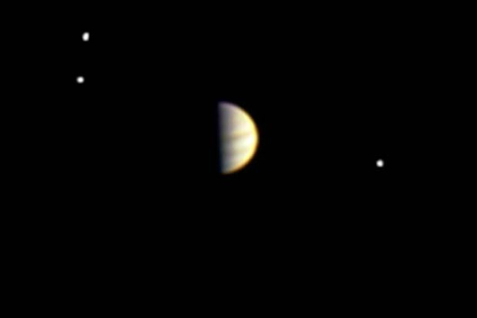 Jupiter Moons' Orbital Dance - Humans Have Never Seen This! | Video