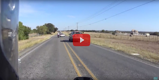 Driver Purposely Swerves into Motorcycle - Dust Runners Automotive Journal