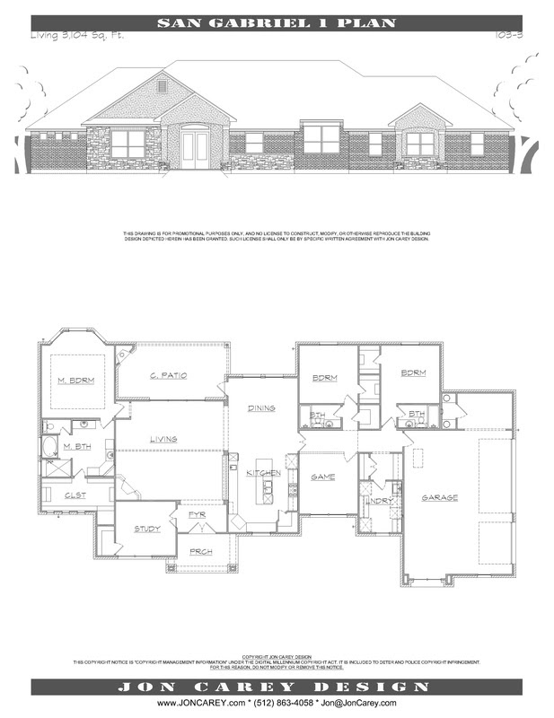 Plans Over 3000 Sf Jon Carey Design Aibdcertified Professional