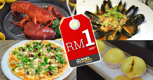 What can you eat with only RM1? You'll be surprised, check out this irresistible promo!