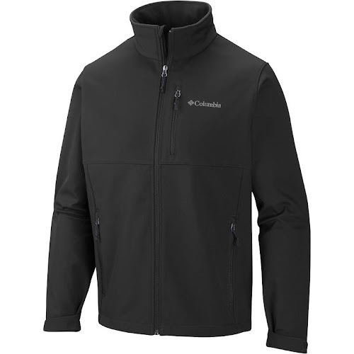 Columbia Men S Ascender Softshell Jacket - Black