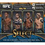 Panini 2021 Select UFC H2 Trading Card HOBBY HYBRID Box [4 Packs]