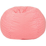 Gold Medal Cosmo Zigzag Small Bean Bag Coral - 30008488927
