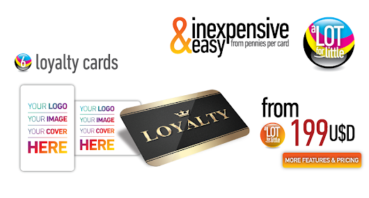 Plastic Loyalty Cards, Loyalty Cards Printing
