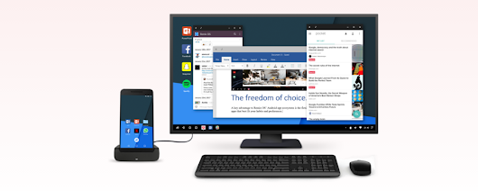Turn your Android phone into a PC with Remix Singularity