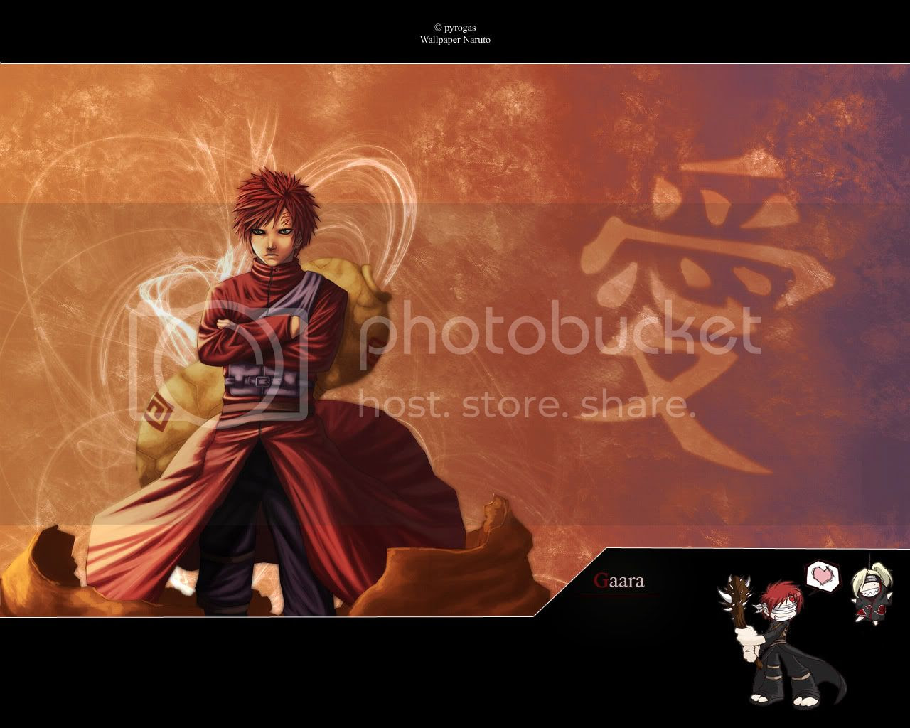 Gaara Anime Wallpapers and Pictures