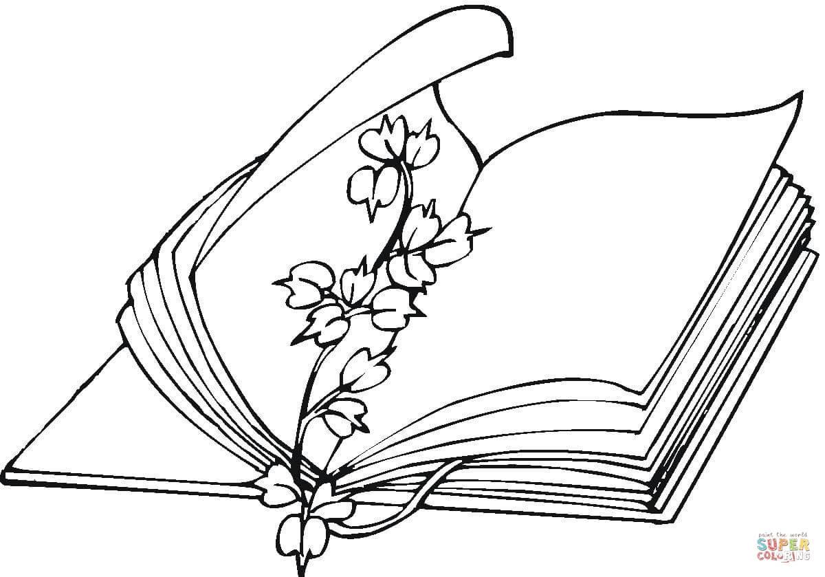 Dibujo De Flores Marcalibros Para Colorear Dibujos Para Colorear