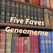 """Five Faves"" Five of my favourite Family History Books – Jane Taubman's Family Home"