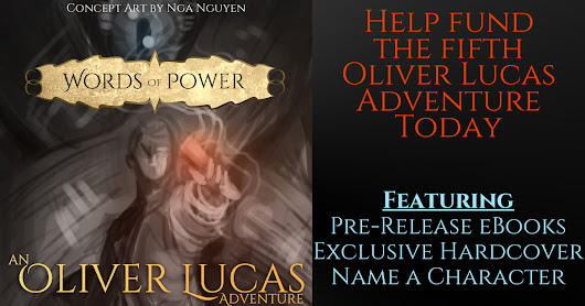 Publish The Fifth Oliver Lucas Adventure Novel