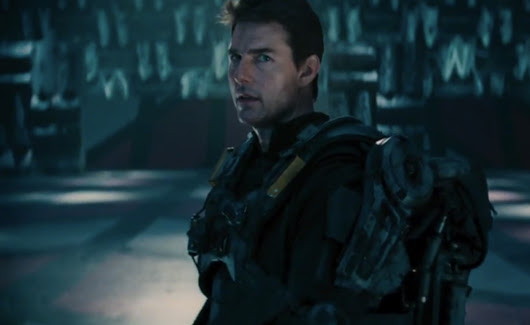 Tom Cruise goes back to the future in the first trailer for 'Edge of Tomorrow'