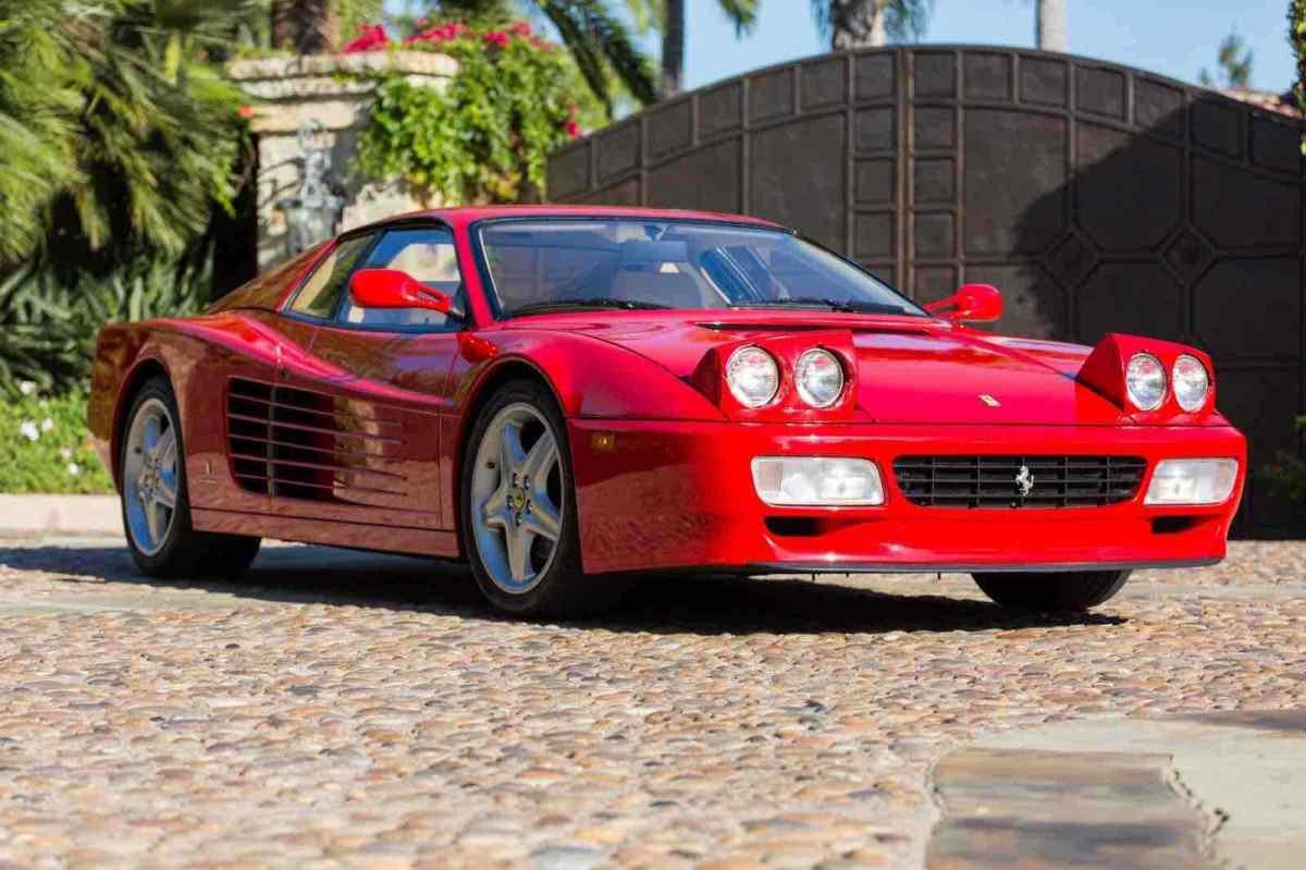 1992 Ferrari 512 TR Coupe Red RWD Manual - Classic Ferrari ...
