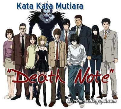 kutipan kata mutiara  anime death note part