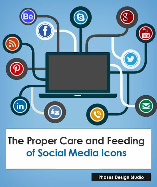The Proper Care and Feeding of Social Media Icons