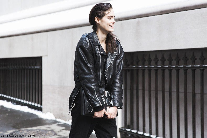 New_York_Fashion_Week-Fall_Winter_2015-Street_Style-NYFW-Model_Diesel-1