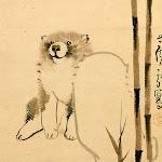 (美の履歴書:619)「竹狗子図」 長沢芦雪 背向ける子犬、なぜゆるい - 朝日新聞