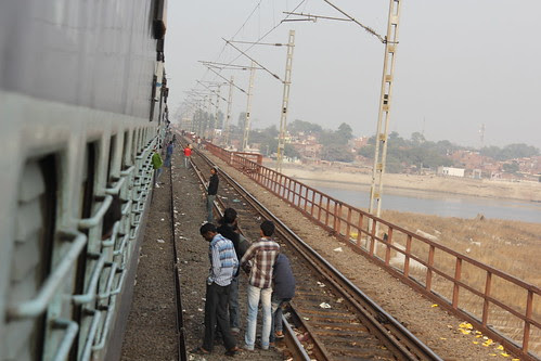 Commiting Suicide And Travelling By Indian Railways  Is The Same Thing by firoze shakir photographerno1