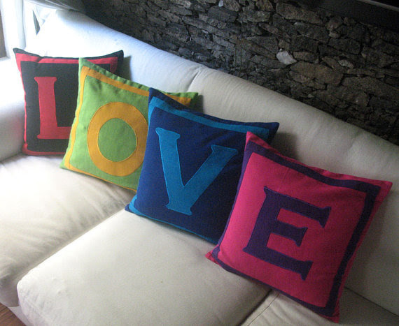 Love Pillows | Feng Shui Interior Design | The Tao of Dana