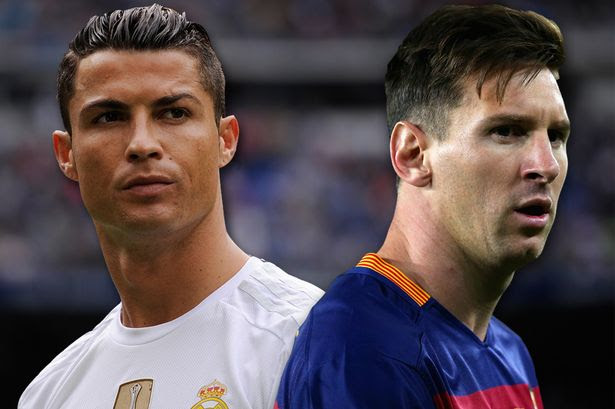 Image result for Ronaldo, Messi