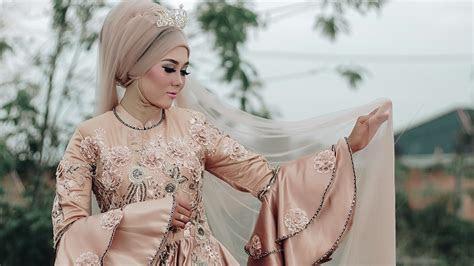 inspirasi model baju gamis pesta  berbagai negara