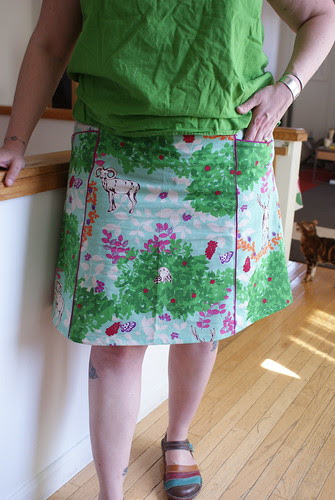 I CAN'T STOP MAKING SKIRTS