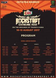 Окончателна програма на ROCKSTADT EXTREME FEST 2017