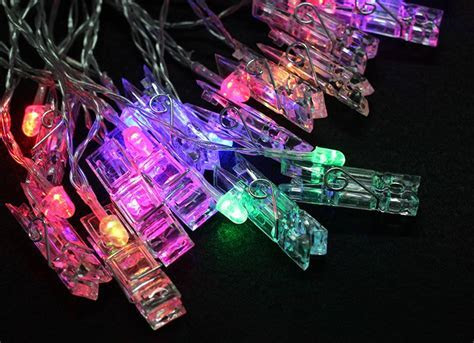 Clips LED Copper Wire String Lights LED Photo Clip String