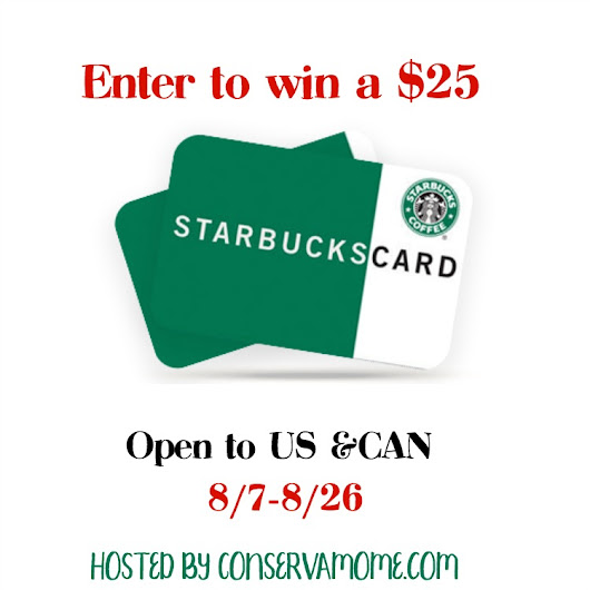 $25 Starbucks Gift Card Giveaway ~ Love coffee? ~ Tom's Take On Things