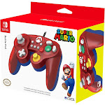 Hori Wired USB Controller Battle Pad Gamepad For Nintendo Switch - Mario