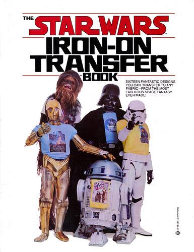 Star Wars Iron-On Transfer Book 001
